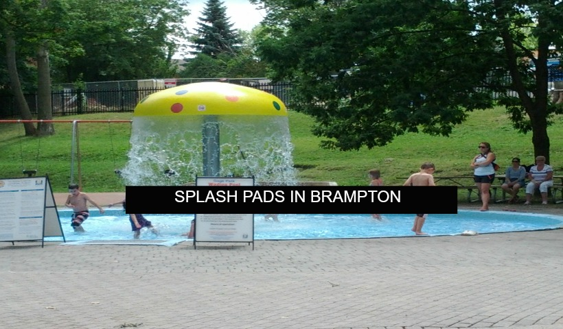 Splash Pads In Brampton Momstown Brampton
