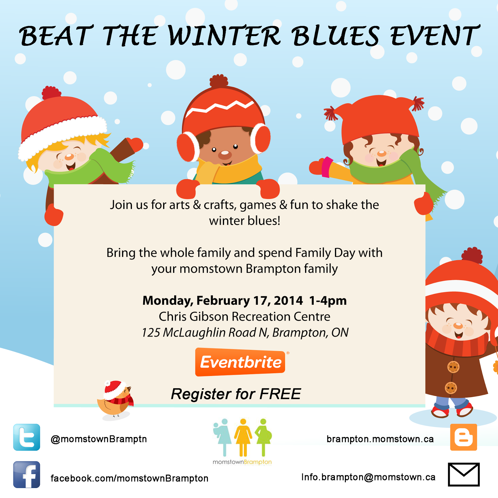 Beat The Winter Blues Event