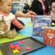 Valentine's Alphabet Play