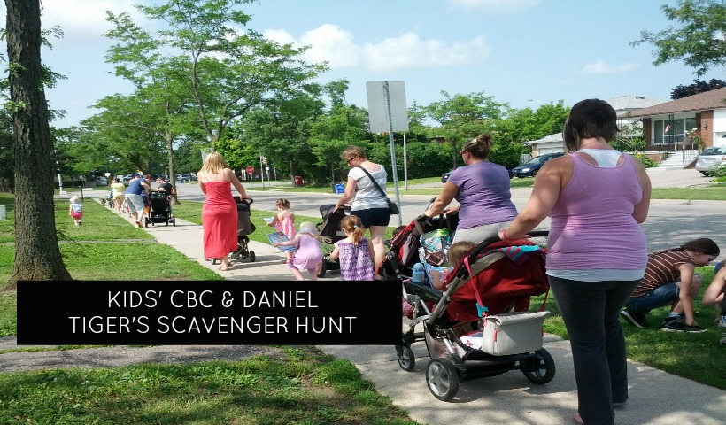 Scavenger Hunt with Daniel Tiger and Kids' CBC