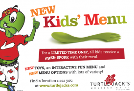 Where To Go For Dinner With the Kids? Try Turtle Jack's Muskoka Grill!