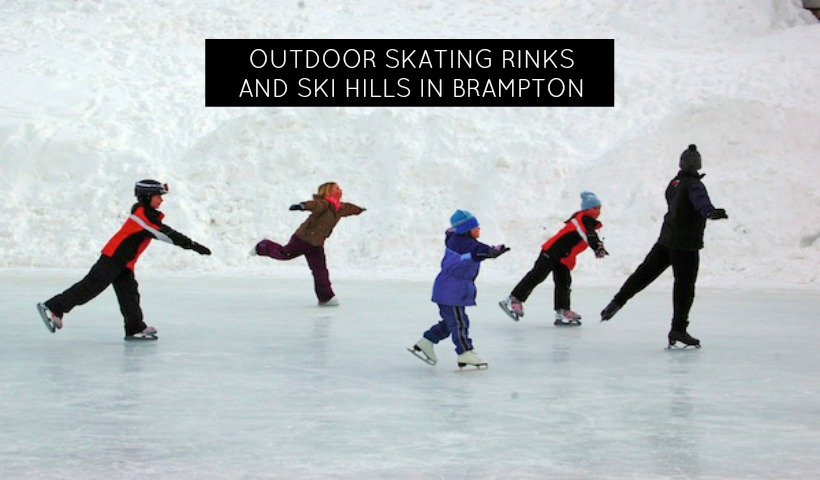 Outdoor Skating Rinks and Ski Hills in Brampton