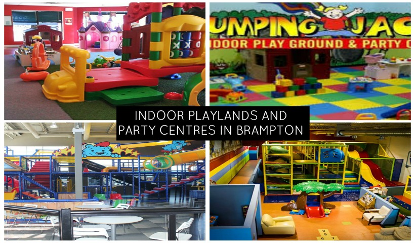 Indoor Playlands & Party Centres in Brampton